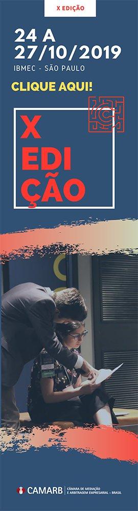 Competição Brasileira de Mediação e Arbitragem X Edição
